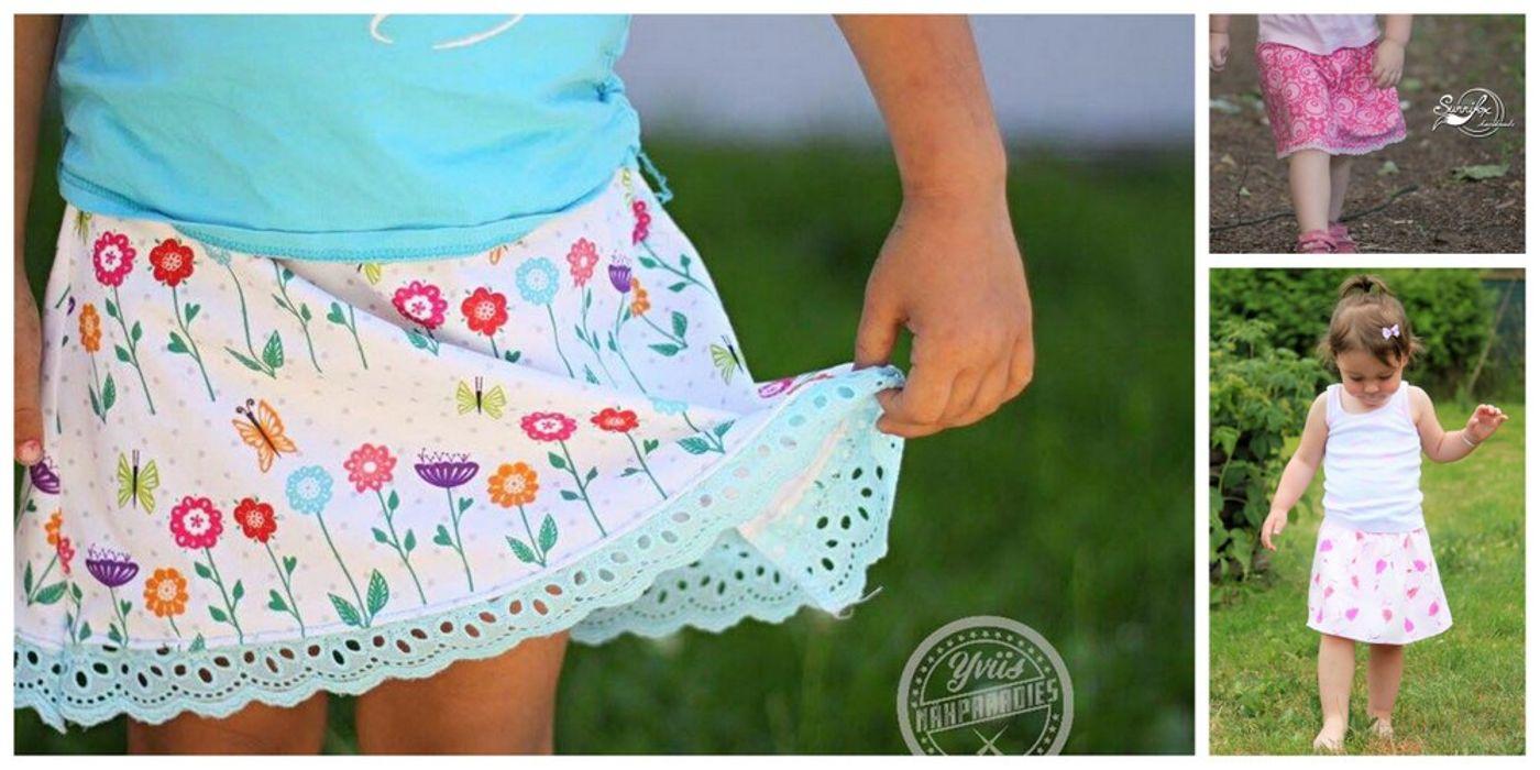 Produktfoto von Engelinchen für Schnittmuster Fix wie nix Rock für Mädchen