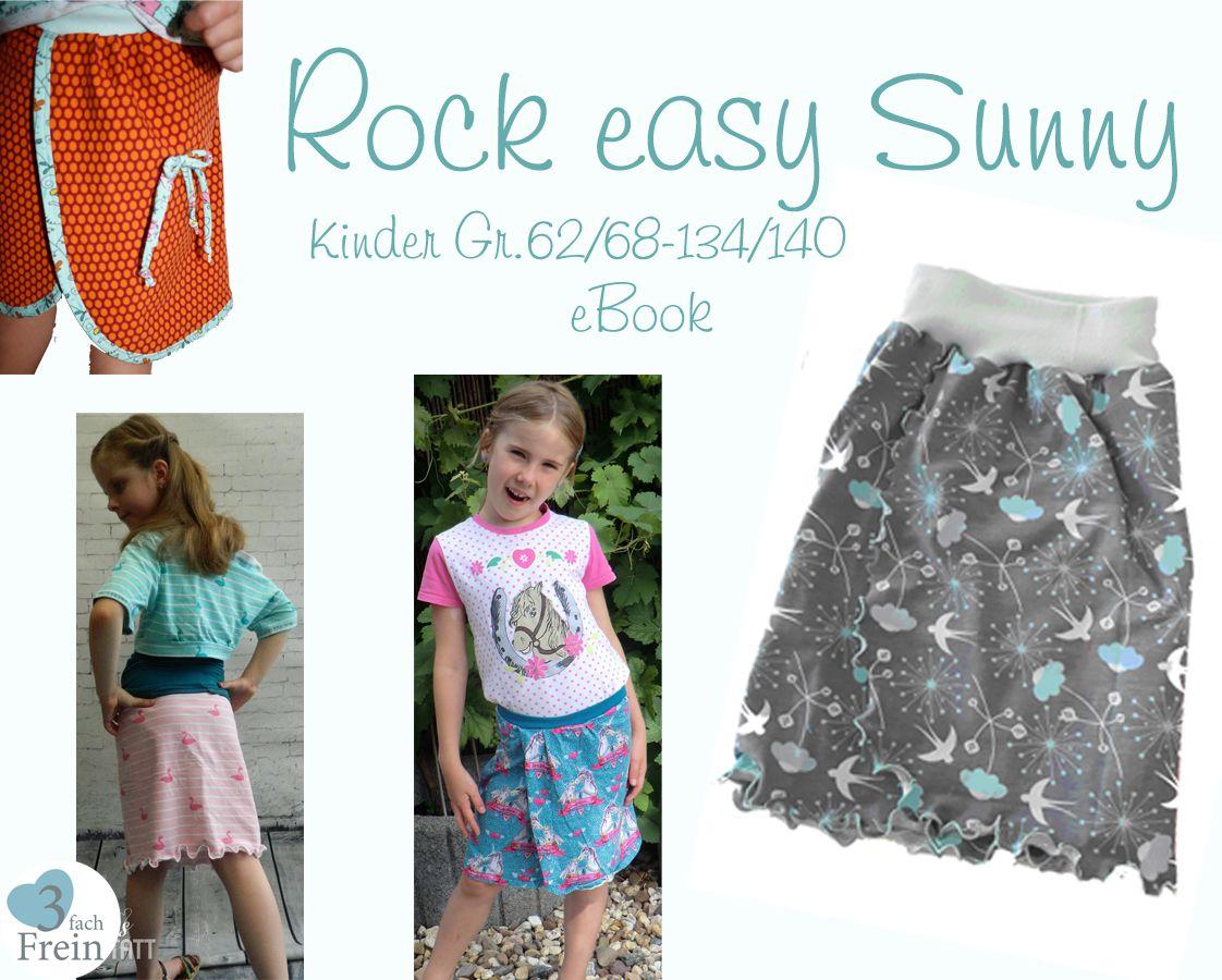 Produktfoto von 3fachFrein für Schnittmuster Rock easy Sunny