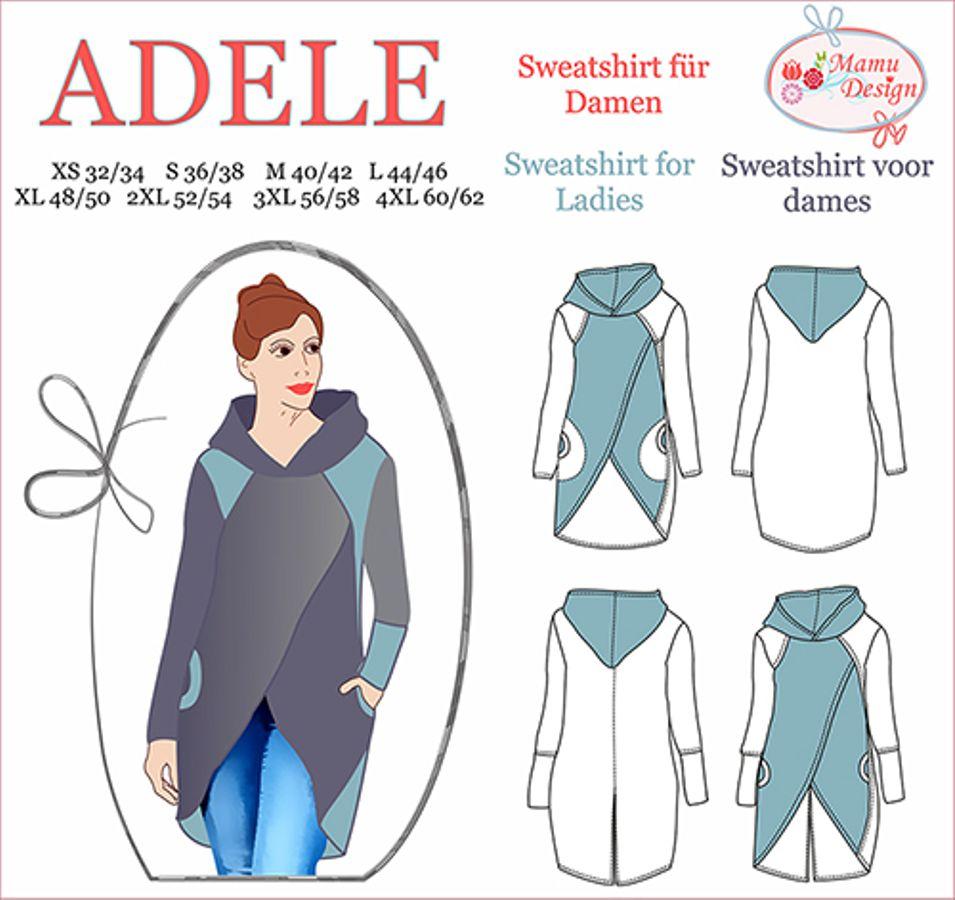 Produktfoto von Mamu Design für Schnittmuster Adele