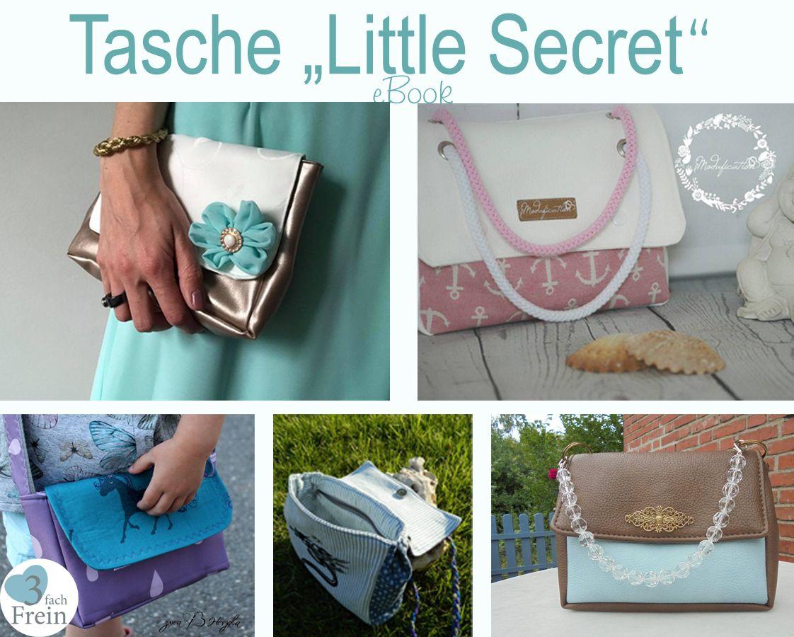 Produktfoto von 3fachFrein für Schnittmuster Tasche Little Secret