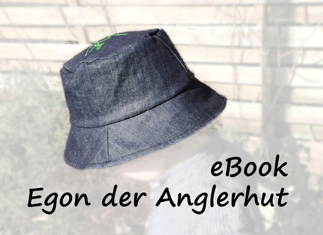 Produktfoto von Bunte Nähigkeiten für Schnittmuster Egon der Anglerhut