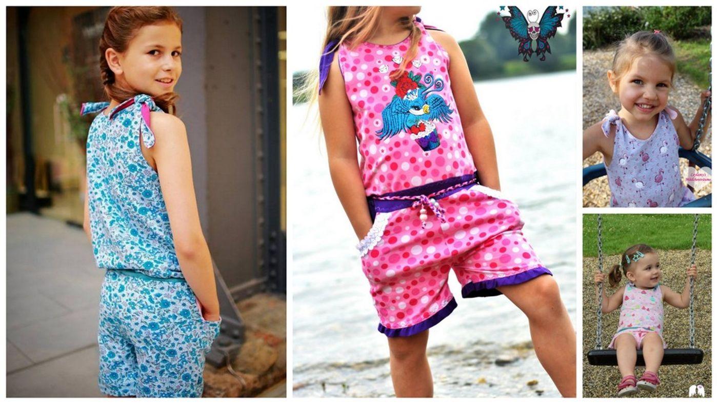 Produktfoto von Engelinchen für Schnittmuster Jumpsuit Charlotte