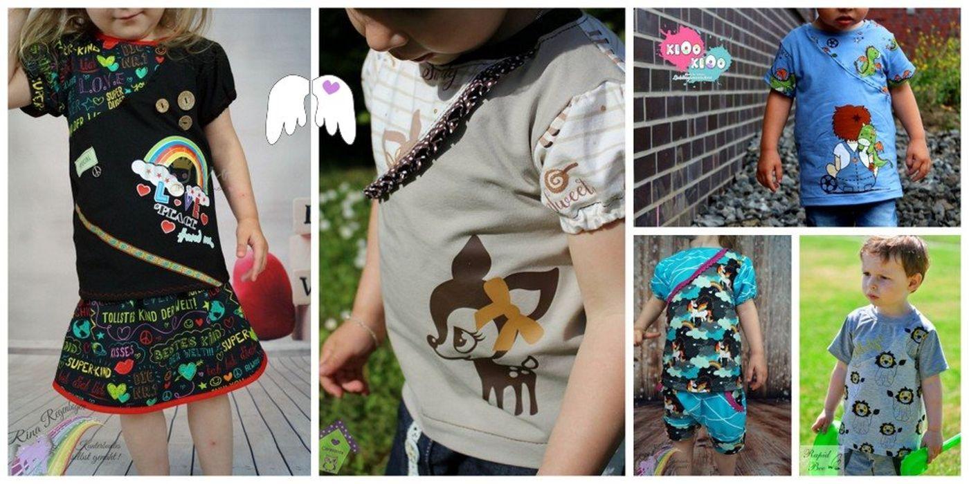 Produktfoto von Engelinchen für Schnittmuster T-Shirt King & Queen for a Day