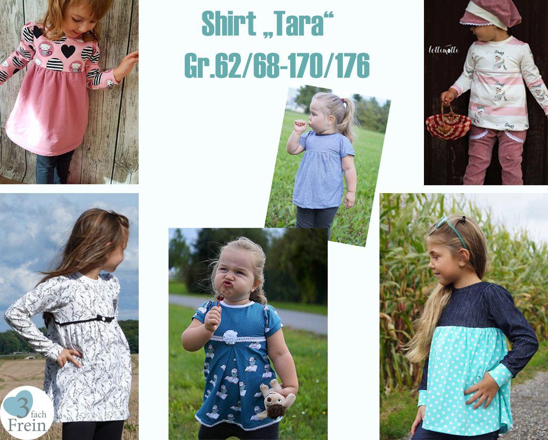 Produktfoto von 3fachFrein für Schnittmuster Shirt Tara