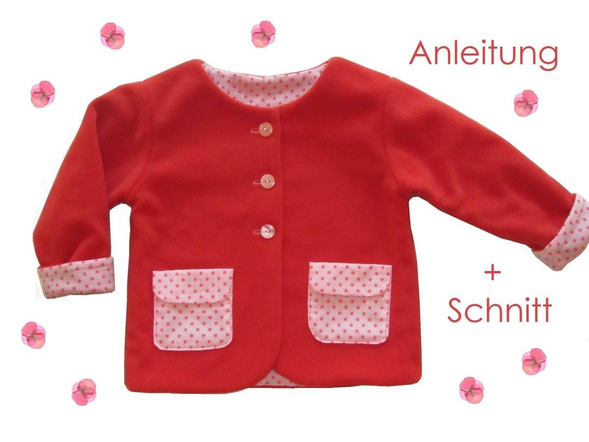 Produktfoto von Lunicum für Schnittmuster Jäckchen mit Taschen