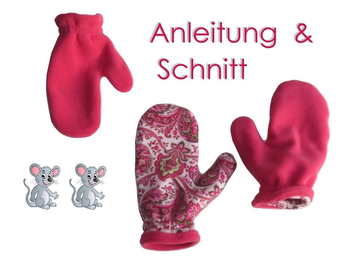 Produktfoto von Lunicum für Schnittmuster Handschuhe in 7 Größen