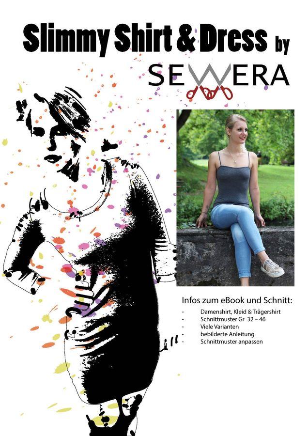 Produktfoto von sewera für Schnittmuster Slimmy Shirt & Dress