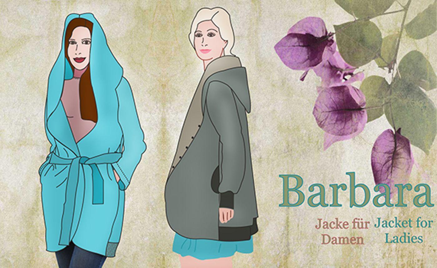 Produktfoto von Mamu Design für Schnittmuster Barbara
