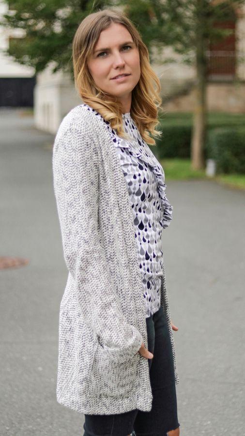 Produktfoto von textilsucht für Schnittmuster Cardigan Lani Damen