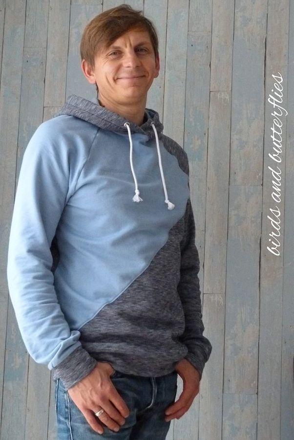 Produktfoto von textilsucht für Schnittmuster Sweater Kuschelwarm Herren