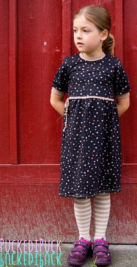 Produktfoto von textilsucht für Schnittmuster Kinderkleid Kelani