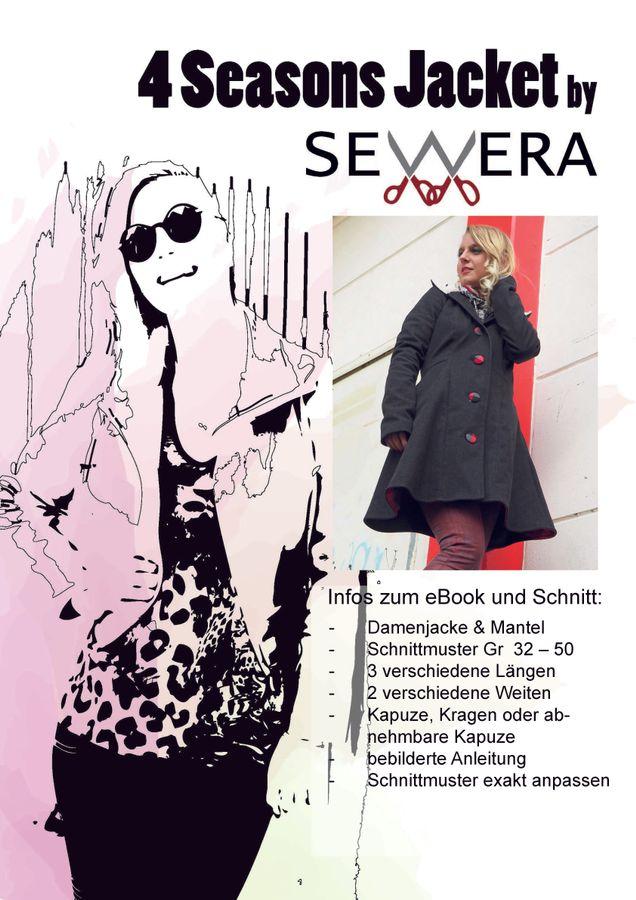 Produktfoto von sewera für Schnittmuster 4 Seasons Jacket