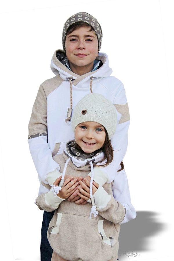 Produktfoto von Fadenkäfer für Schnittmuster Raglanpullover Noa für Kinder