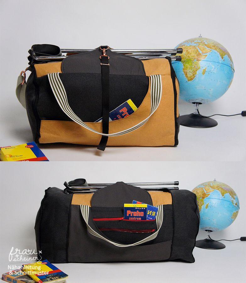Produktfoto von Frau Scheiner für Schnittmuster Reisetasche Yoda