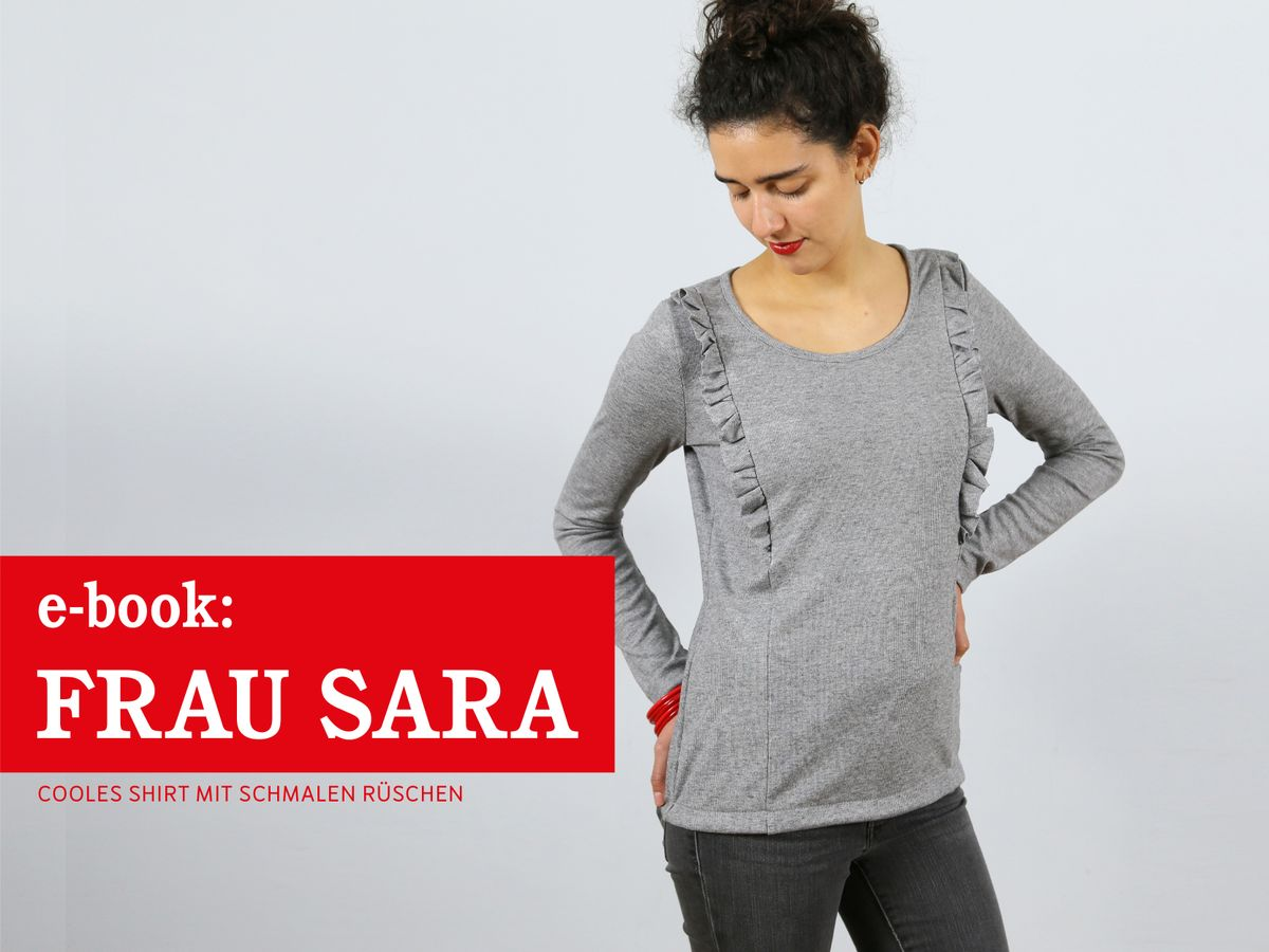 Produktfoto von schnittreif für Schnittmuster Frau Sara