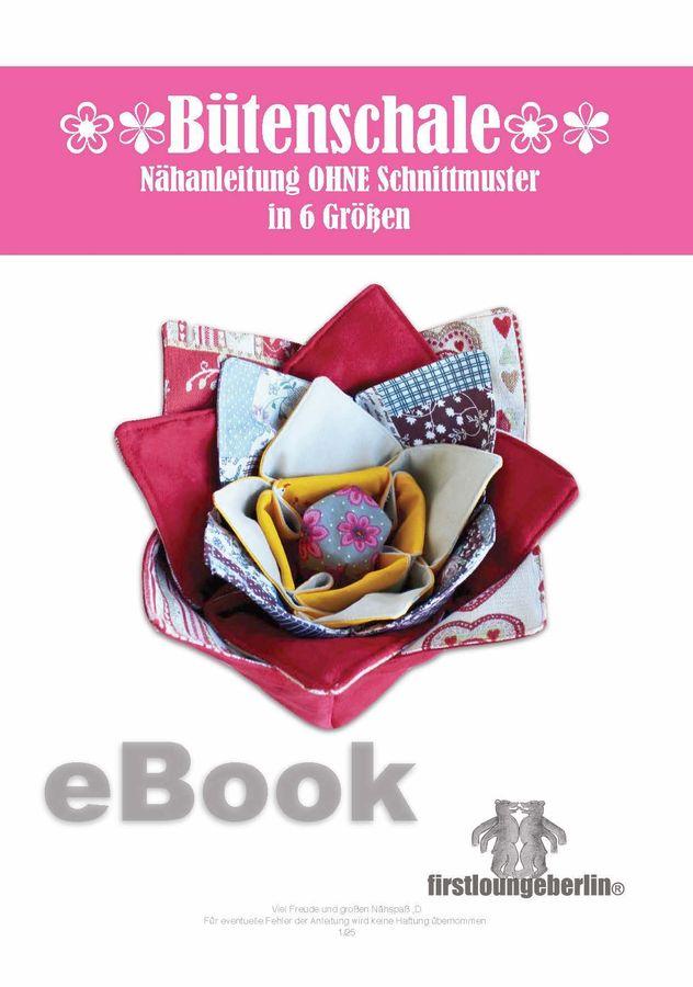 Produktfoto von Firstlounge Berlin für Schnittmuster Blütenkorb