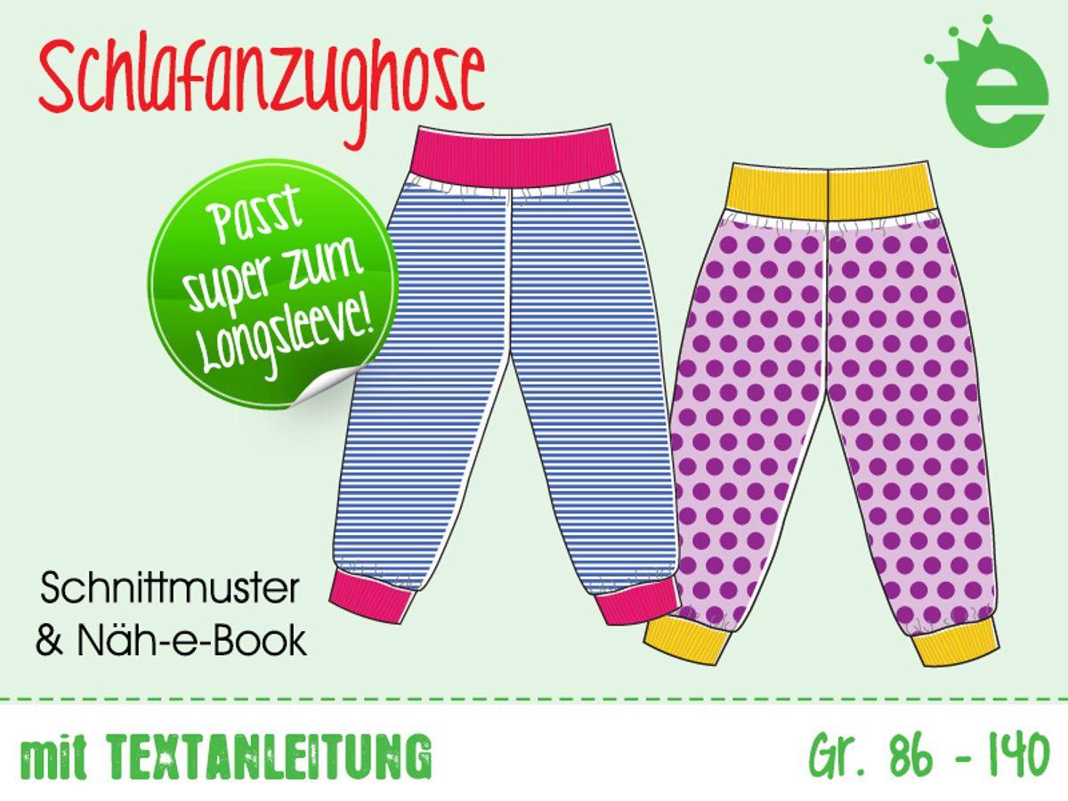 Produktfoto von Erbsenprinzessin für Schnittmuster Schlafanzughose