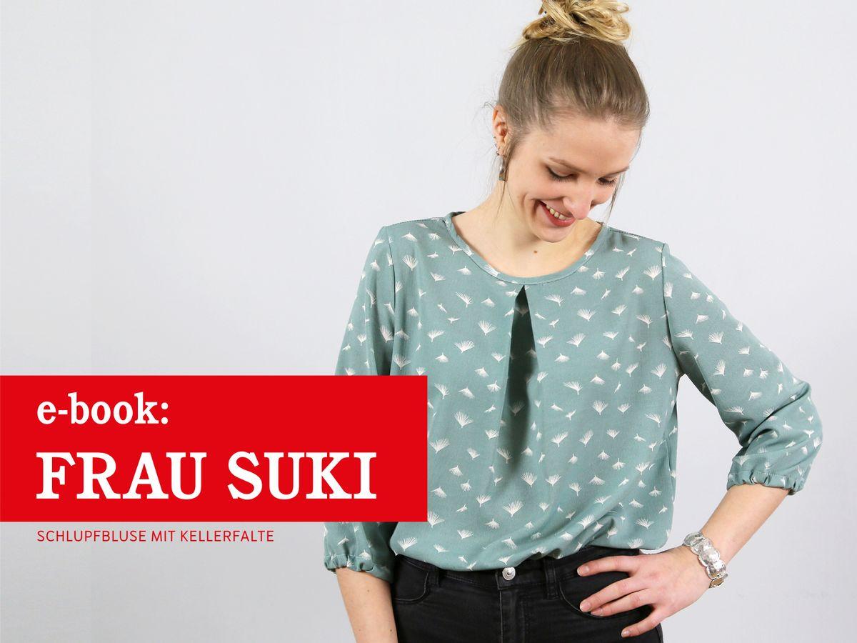 Produktfoto von STUDIO SCHNITTREIF für Schnittmuster Frau Suki