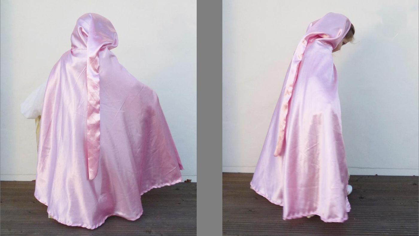 Produktfoto von Kleine Lotta Hohenberg für Schnittmuster Puppenumhang Princess