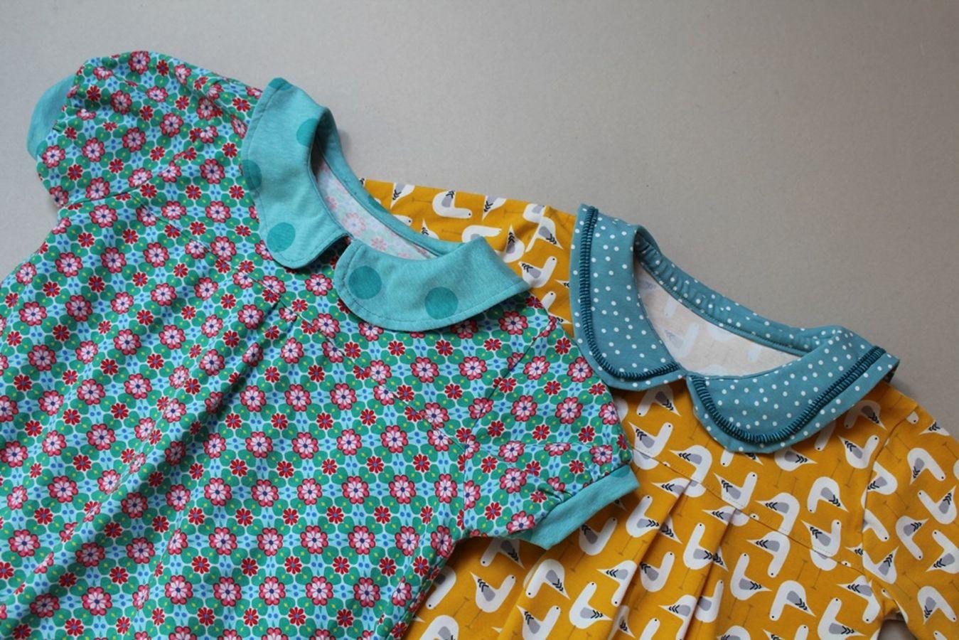 Produktfoto von Kleine Lotta Hohenberg für Schnittmuster Mädchenkleid Rita