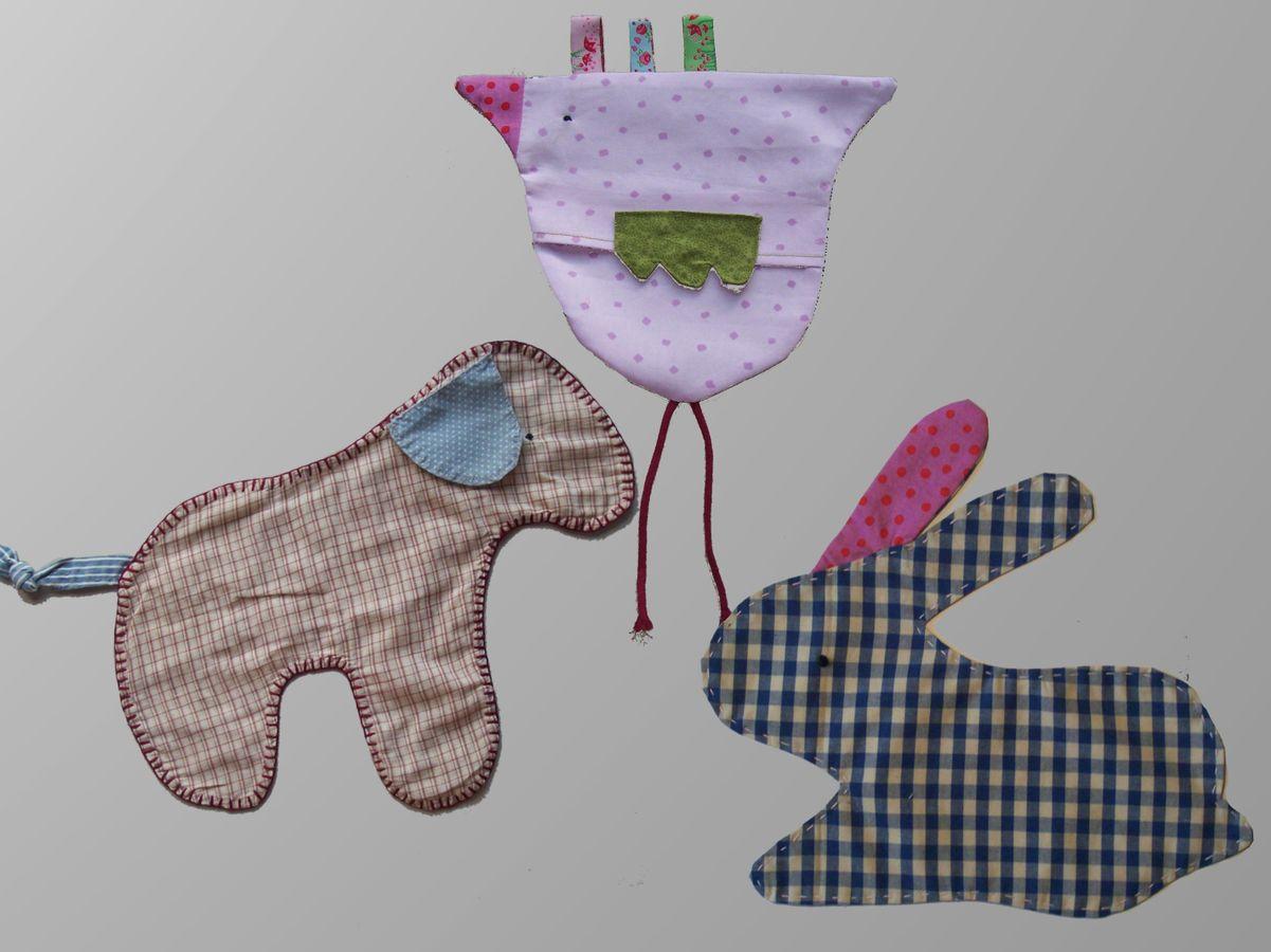 Produktfoto von Kleine Lotta Hohenberg für Schnittmuster Knuddeltuch ANIMALA