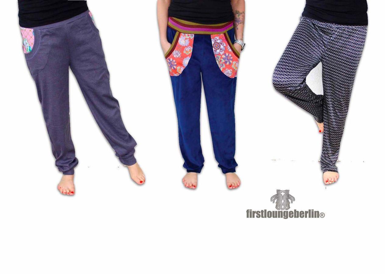Produktfoto von Firstlounge Berlin für Schnittmuster Wohlfühlhose für Damen
