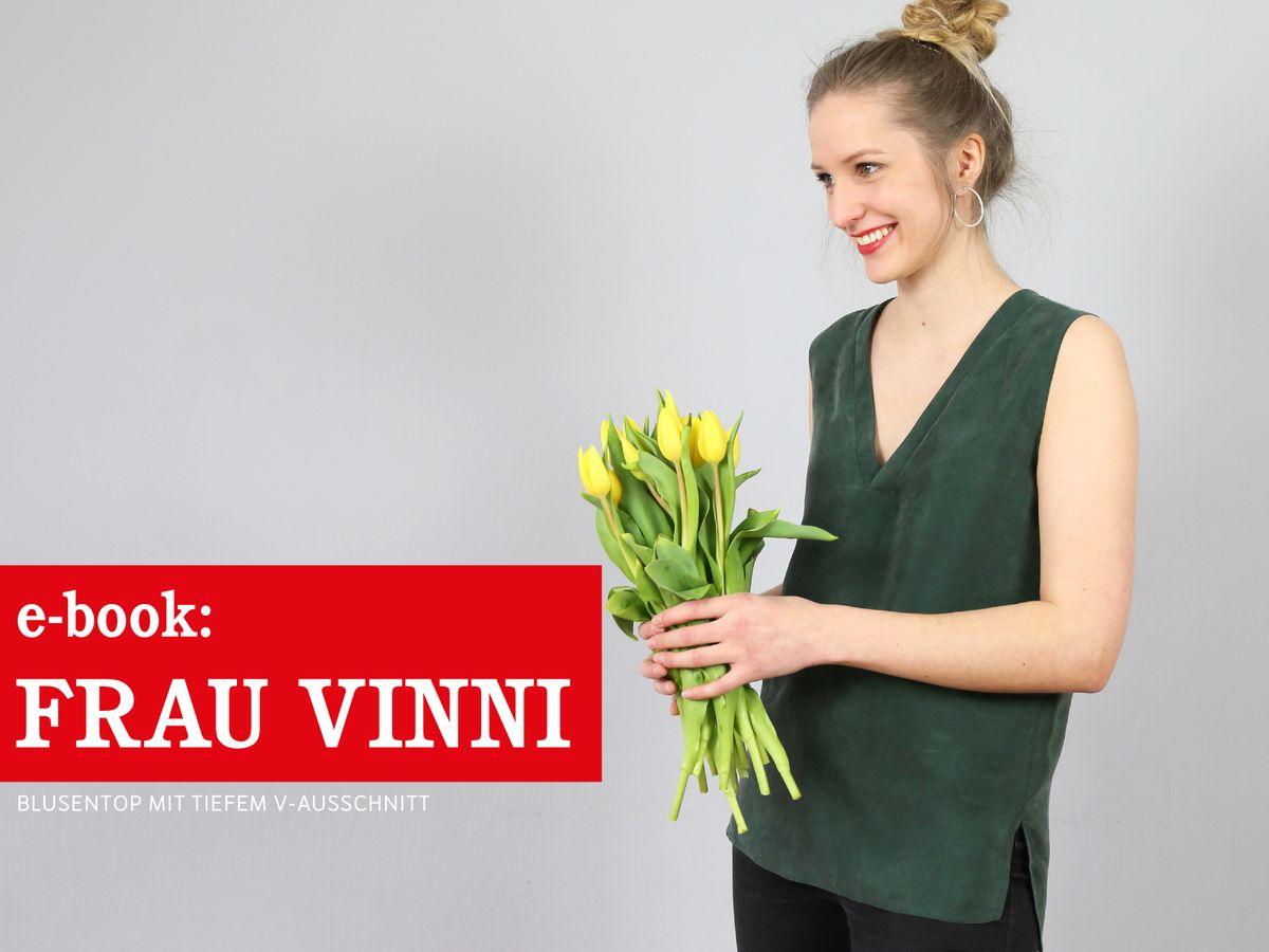 Produktfoto von schnittreif für Schnittmuster Frau Vinni