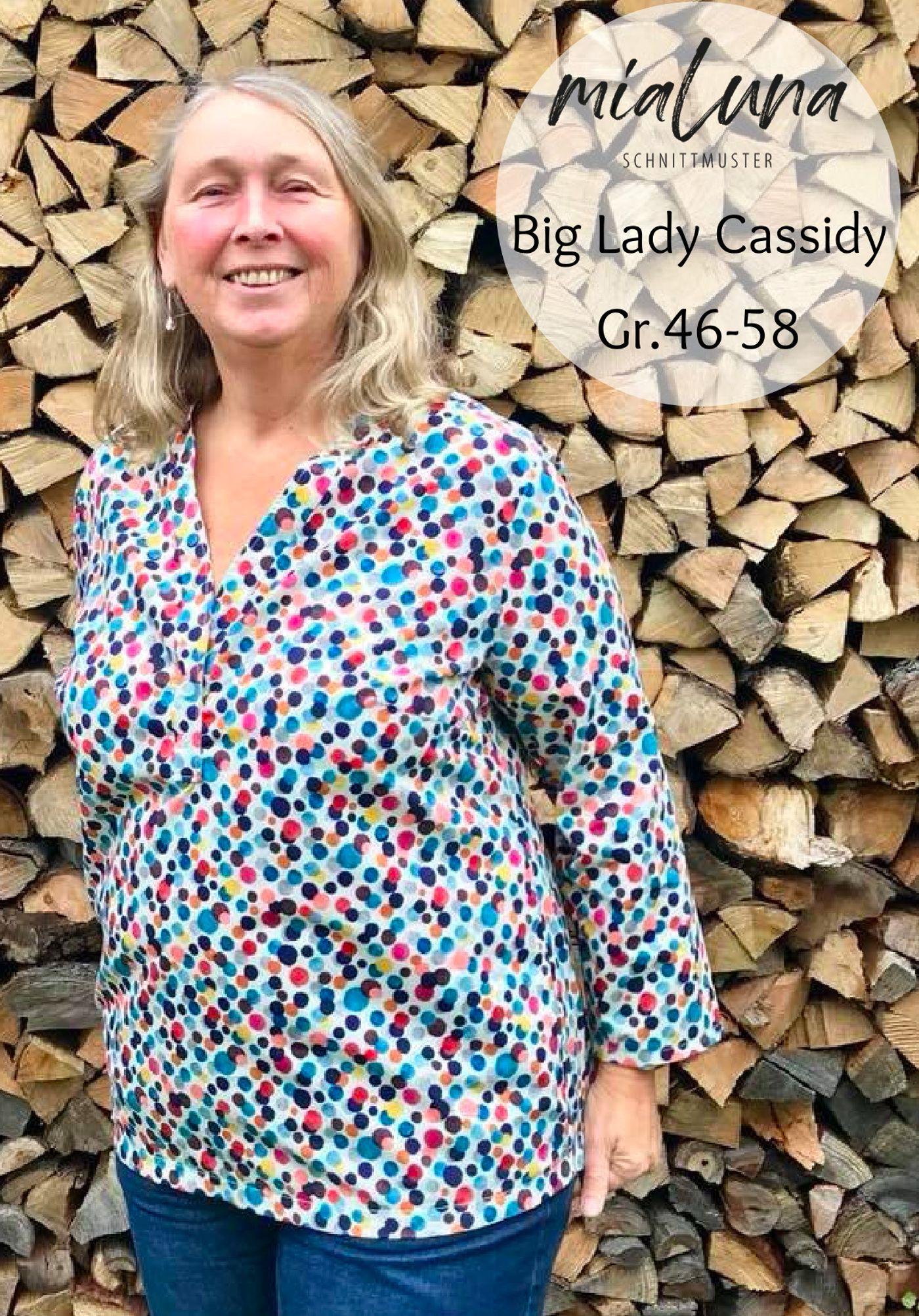 Pattern Big Lady Cassidy Tunikabluse Mialuna