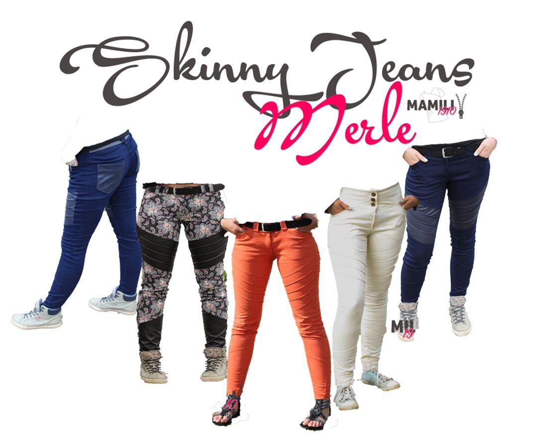 Produktfoto von Mamili1910 für Schnittmuster Skinny Jeans Merle