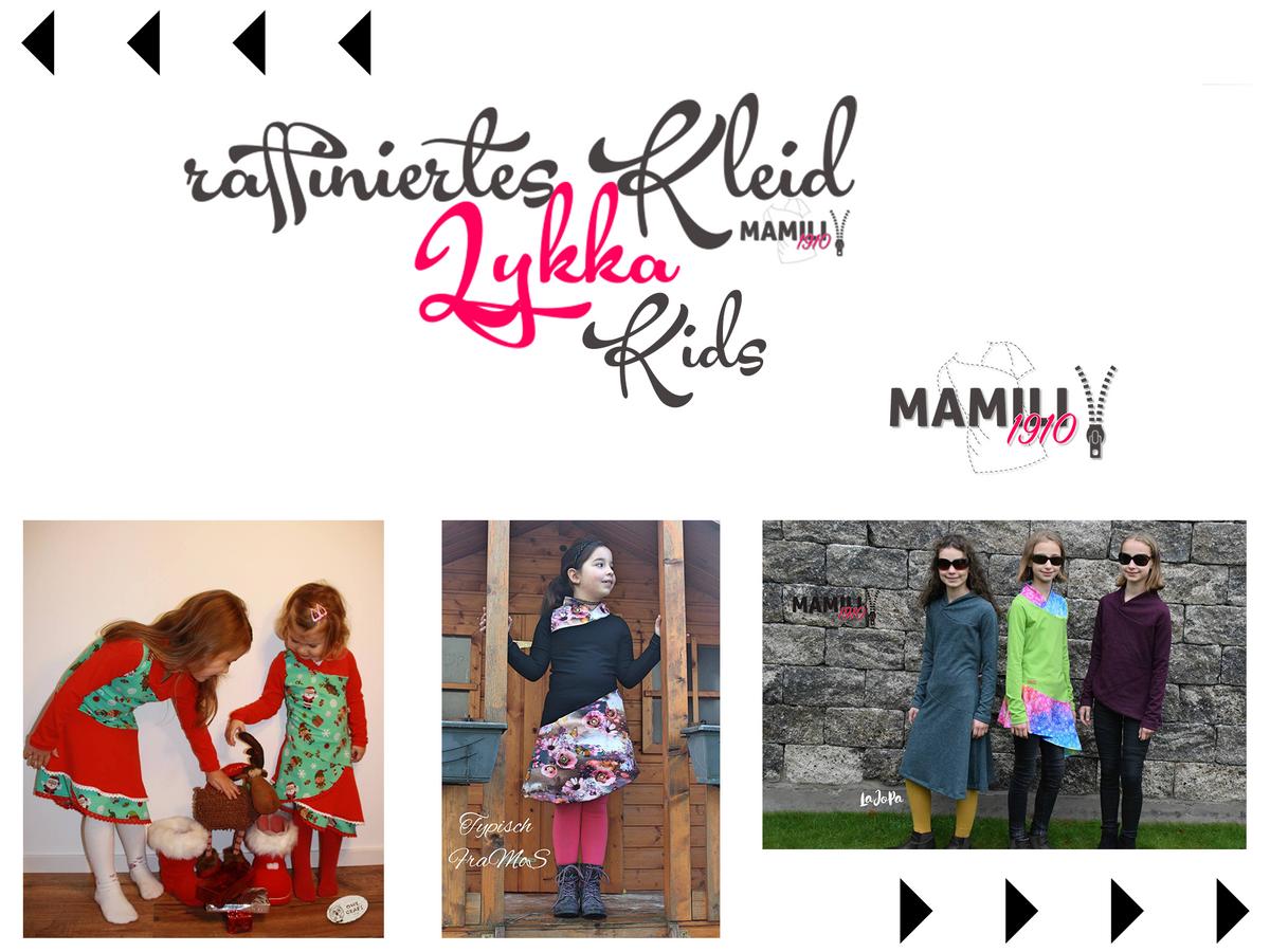 Produktfoto von Mamili1910 für Schnittmuster Kleid Lykka Kids