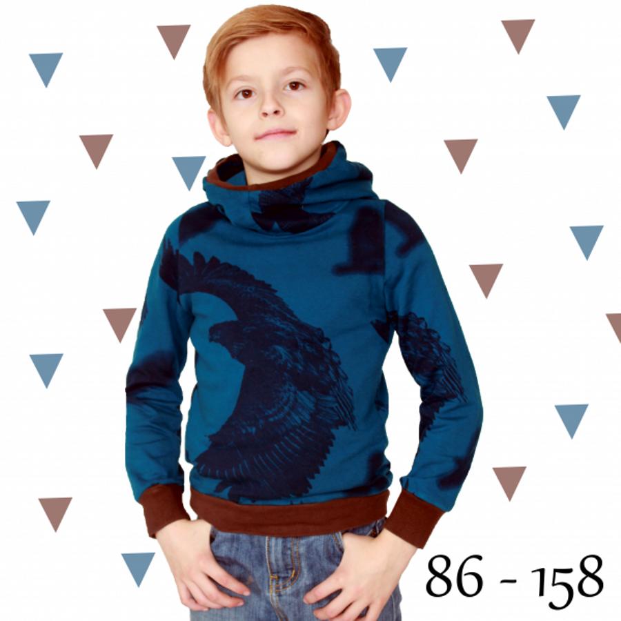 Produktfoto von Anni Nanni für Schnittmuster Hoody für Jungs
