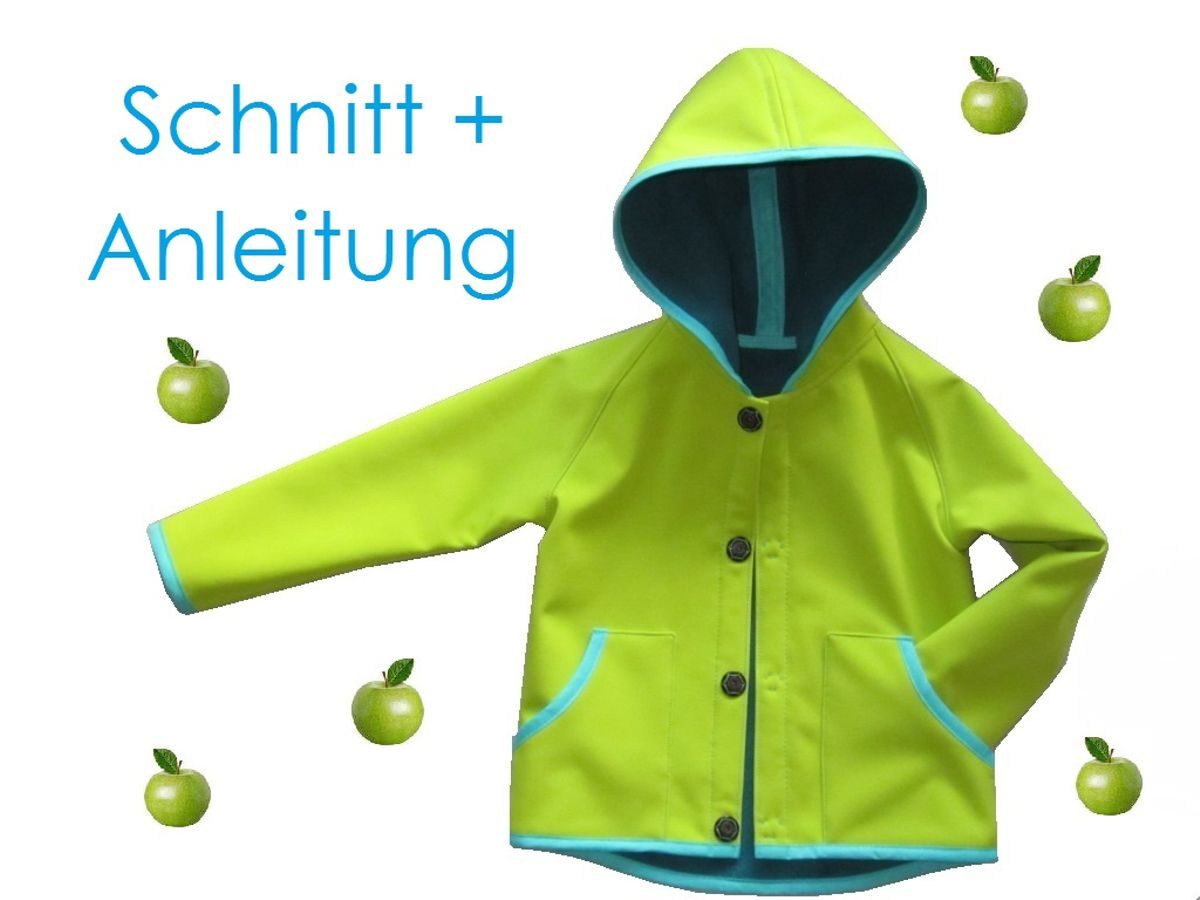 Produktfoto von Lunicum für Schnittmuster Kapuzenjacke Hoody