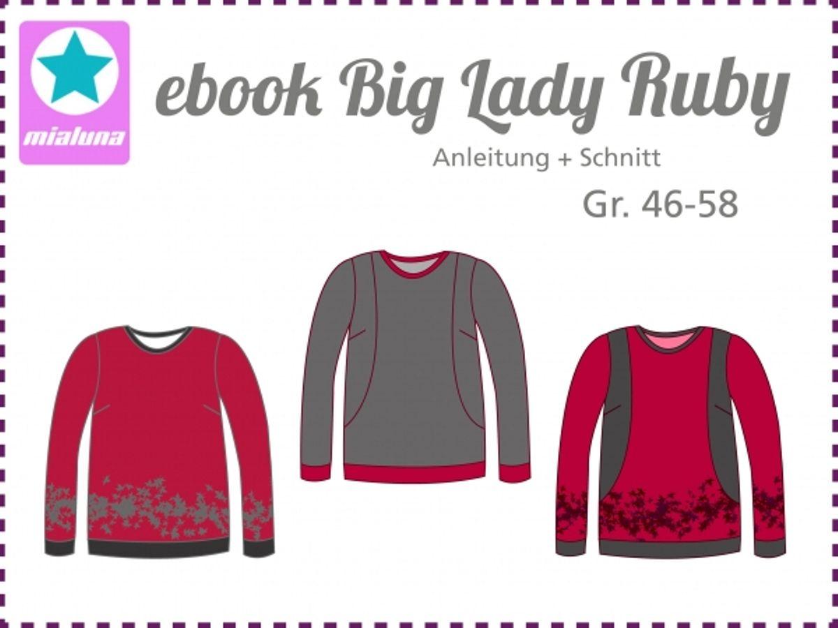 Produktfoto von mialuna für Schnittmuster Big Lady Ruby