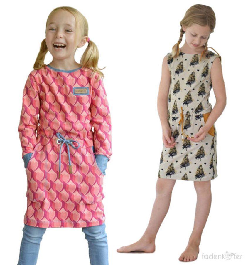 Produktfoto von Fadenkäfer für Schnittmuster Pia Kinder
