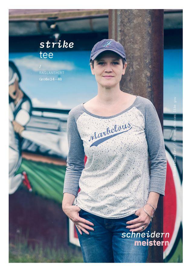 Produktfoto von schneidernmeistern für Schnittmuster strike tee
