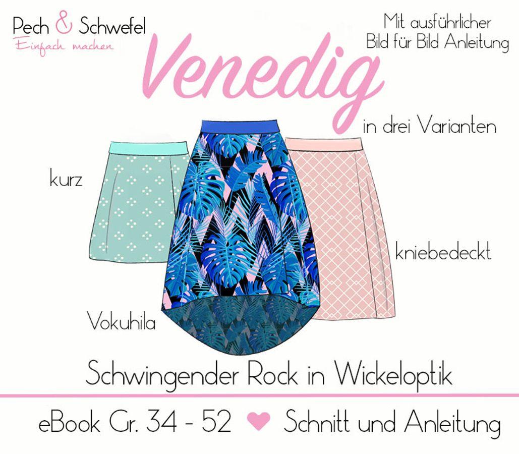 Produktfoto von Pech & Schwefel für Schnittmuster Damenrock Venedig