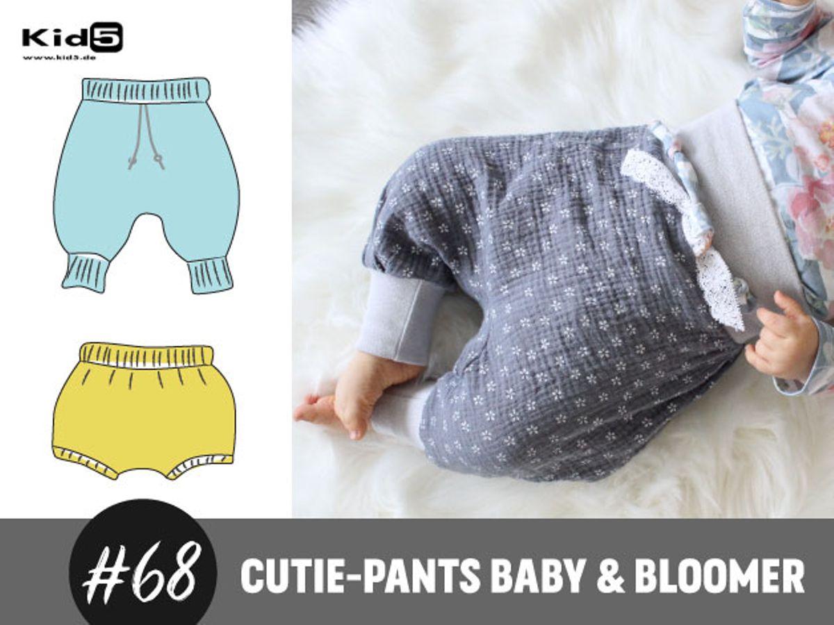 Produktfoto von Kid5 für Schnittmuster #68 Cutie Pants Baby & Bloomer