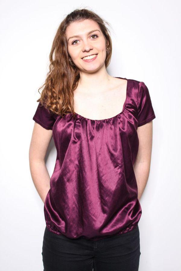 Produktfoto von Schnittmuster Berlin für Schnittmuster Bluse Emma