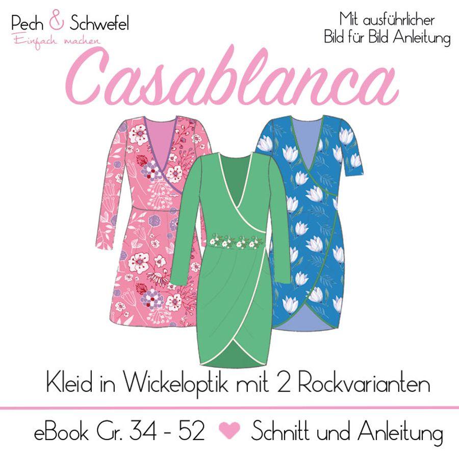 Produktfoto von Pech & Schwefel für Schnittmuster Kleid Casablanca