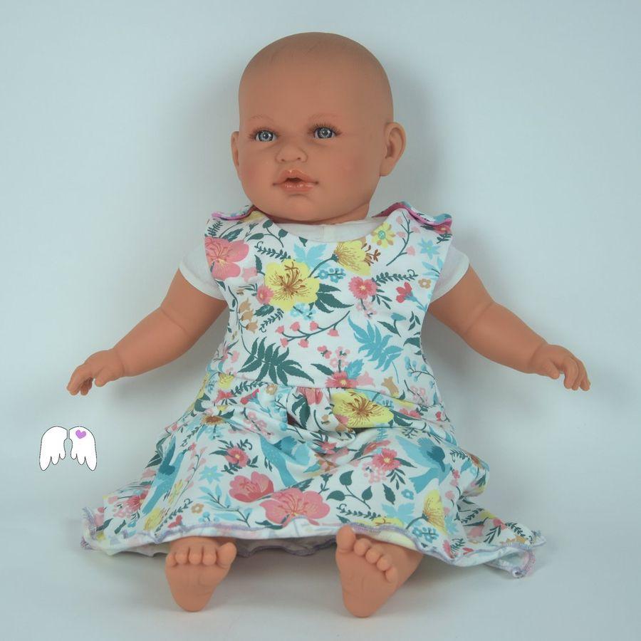 Produktfoto von Engelinchen für Schnittmuster Baby-Strampelkleid Maja