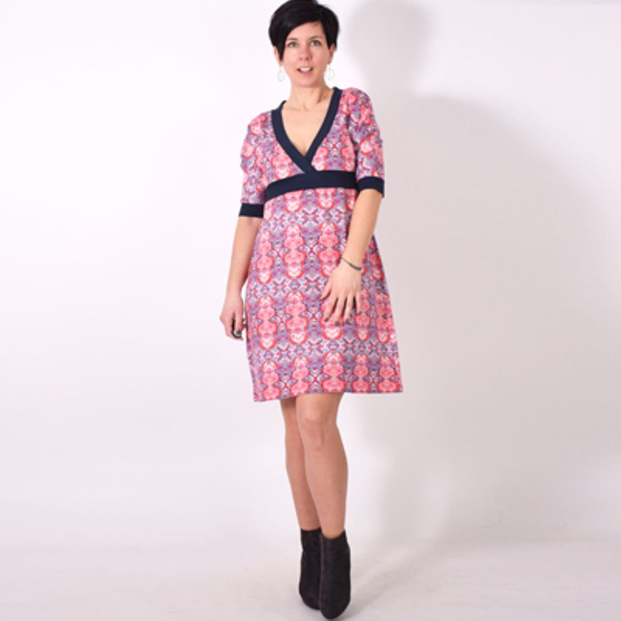 Produktfoto von Leni Pepunkt für Schnittmuster LINDO.Kleid
