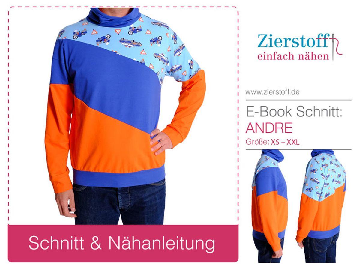 Produktfoto von Zierstoff für Schnittmuster Shirt Tamme XS-XXL