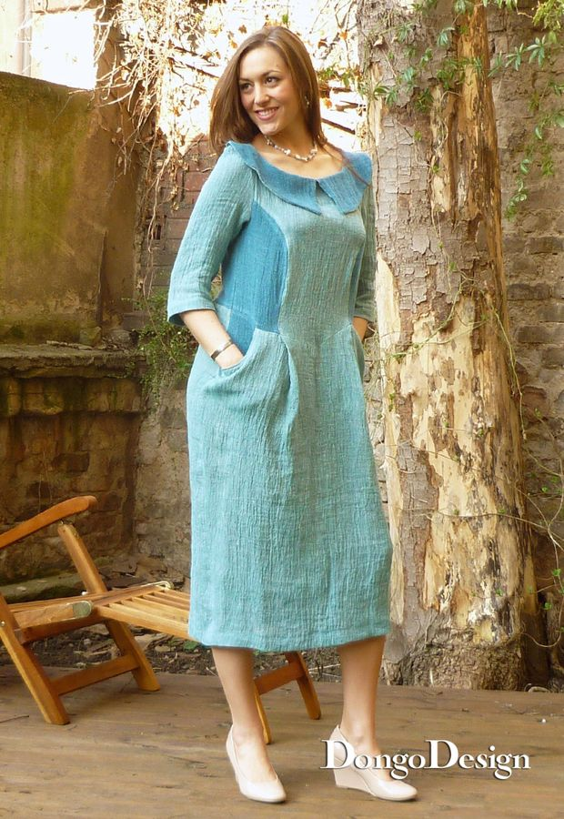 Produktfoto von DongoDesign für Schnittmuster Kleid Audrey 2