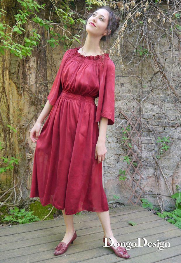 Produktfoto von DongoDesign für Schnittmuster Sommerkleid Annika