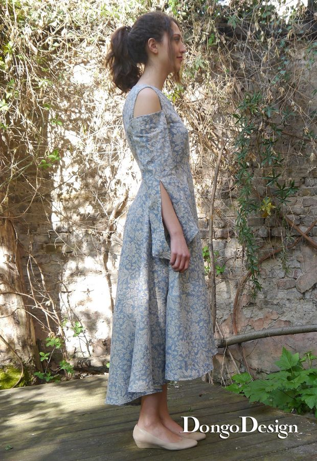 Produktfoto von DongoDesign für Schnittmuster Leinenkleid Linz
