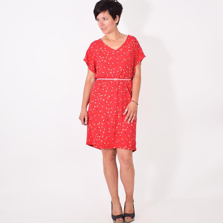 Erfreut Kleid Shirt Schnittmuster Fotos - Strickmuster-Ideen ...
