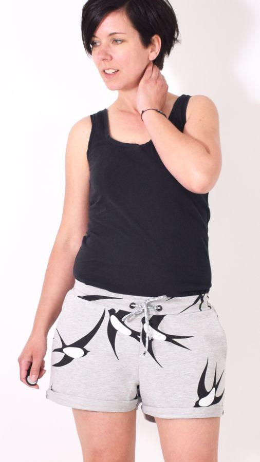 Produktfoto von Leni Pepunkt für Schnittmuster SHORTY.Hose
