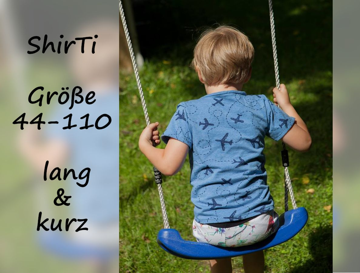 Produktfoto von Bunte Nähigkeiten für Schnittmuster ShirTi
