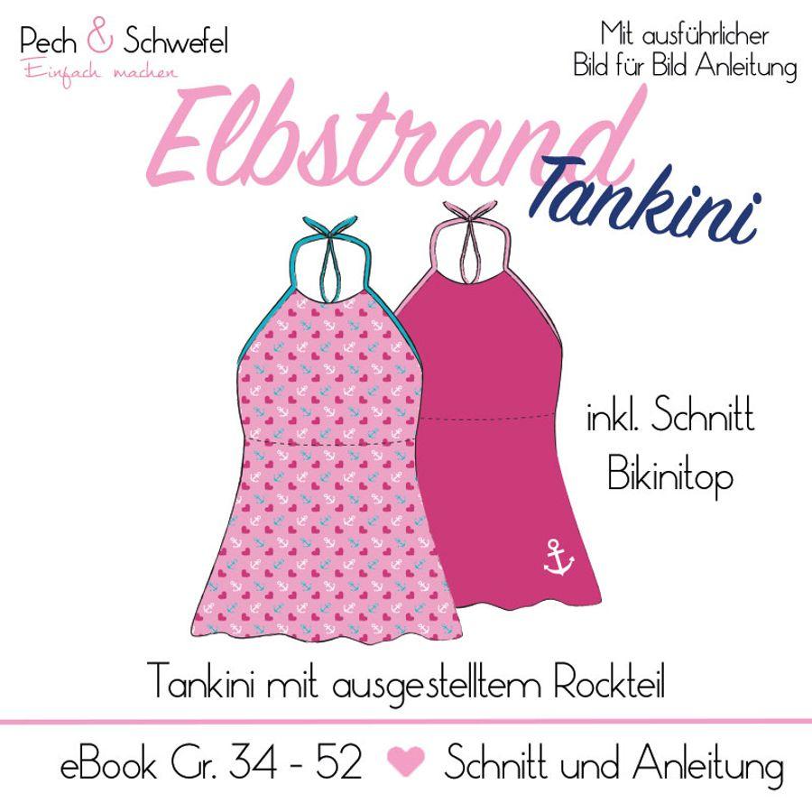 Produktfoto von Pech & Schwefel für Schnittmuster Elbstrand Tankini