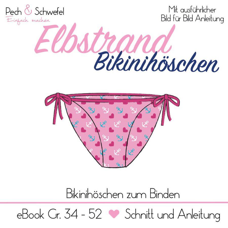 Produktfoto von Pech & Schwefel für Schnittmuster Elbstrand Bikinihöschen zum Binden